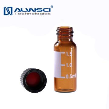 Tubular autosampler hplc laboratory amber sample dram vials 2ml