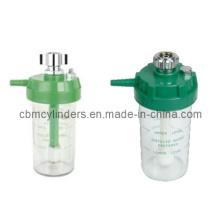 Chromed-Brass Plastic Oxygen Humidifier Bottles