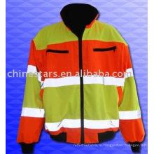 Защитное покрытие с высокой видимостью зимой, отвечающее требованиям EN471