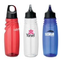 Garrafa de água plástica, garrafa de PC