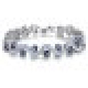 Platino plateado Bling Rhinestone Cubic Zirconia pulsera para mujer boda
