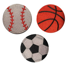 Sports Soccer Velcro Patch for Backpacks and Gear