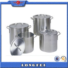 China Supplier Stainless Steel Handle Aluminum Stock Pot