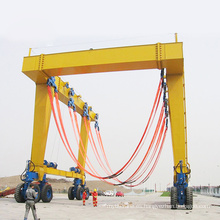 Travel Lift - Equipo de elevación de barcos, máquina de elevación de yates móviles