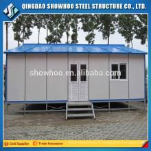 Structure de l'acier à faible coût Structure de la maison préparée