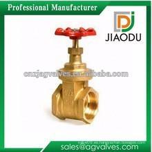 DN25 o DN32 C26000 latón hembra o macho tornillo válvula de compuerta para aceite