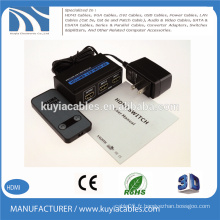 HDMI Switcher 2x1 3D 4K * 2K 2160P enveloppement mental