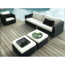 Style moderne en osier mobilier canapé Sections Oem