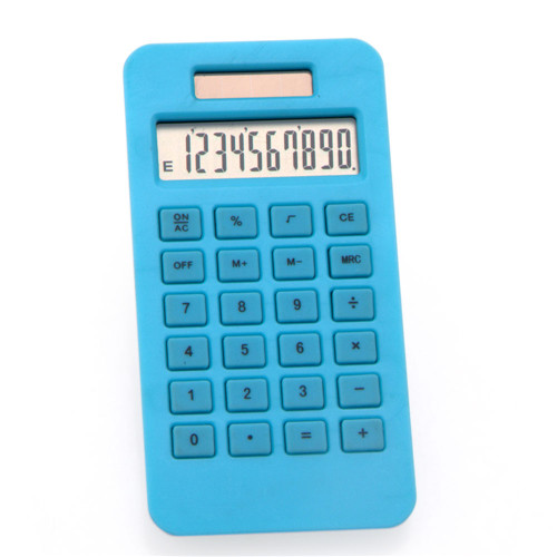 corn plastic pocket calculator