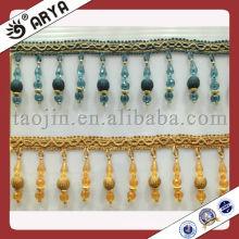 Fralda frisada linda e banhada para cortinas da fabricação da China