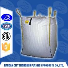 China manufacture low cost fibc bag food grade liner bag baffled fibc used jumbo bag (for sugar,flour,rice,maize,etc) ZR-92