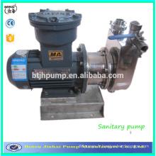 Pompe centrifuge à amorçage automatique en acier inoxydable Pompe centrifuge Pompe à vin