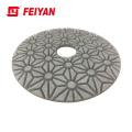 3 Step  dry &wet diamond polishing pad 4 inch for stone concrete