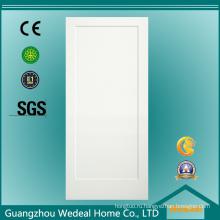 Классический/традиционный американский одноместный панель Белый грунтованный номер MDF деревянные двери