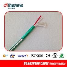 Изолированный полиэтиленовый кабель с двойным экраном с низким уровнем шума