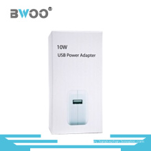 ABS Single USB Travel Charger with Paper Bag