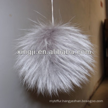 Big fur pompom accessories