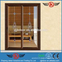 JK-AW9103 porte coulissante en verre intérieur / portes pliante économique
