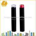 Private Label Kosmetik Fall schlanke Kunststoff Lippenstift Container