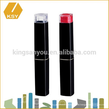 Private Label Kosmetik Fall schlanke Kunststoff Lippenstift Container