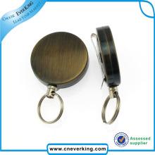 Bobine de badge Yoyo sur fil métallique sur mesure