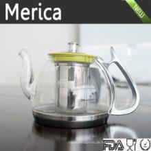 2016 Trending Produkte Borosilizierte Teekannen, Glas Teekanne, Tee Infuser