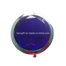 Round Beautiful Gemstone Magnifing Make up Mirror