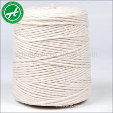 Cuerda de algodón 100% cuerda de algodón para envolver y atar