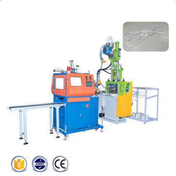 String Hang Tag Vertical Plastic Molding Machine