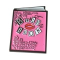 Cute Enamel Trendy Bury Book Brooches Pins