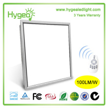 CE ROHS UL dimmable 620 * 620mm 50000 heures led panneau lumière plafonniers