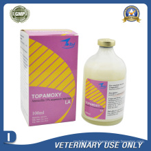 Veterinary Drugs of 15% Amoxicillin Suspension Injection (50ml 100ml)