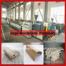 WPC wood plastic furniture board extrusion line