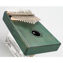 17-tone green thumb piano