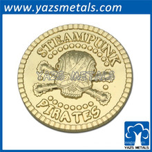 2015 Werbegeschenke Souvenir Goldmünze, Münzsammlung, Münzdruckguss