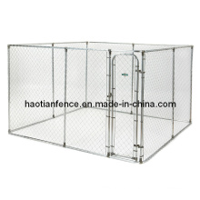 2 in 1 Chain Link Dog Run Kennels, Dog Enclosures