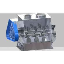 Misturador tipo pás de eixo duplo com gravidade zero WZ, duplo misturador SS, secadora horizontal a vácuo
