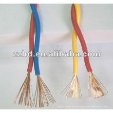 Twist Pair aisló los gemelos de cobre y el cable de tierra