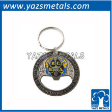 custom manufacturer/3D zinc alloy metal bottle opener manufacturer