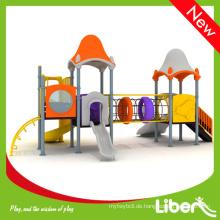Kinder Outdoor Plastik Spielplatz Slide Set