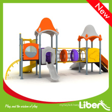 Children Outdoor Plastic Playground Slide Set