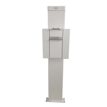 Le support vertical de coffre de bucky de cassette de DR CR fixe pourrait être mise à niveau à la version mobile avec le contrôle sans fil