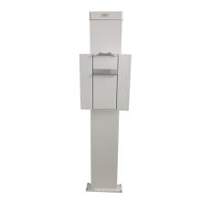 Corrigir vertical DR CR cassete suporte bucky peito suporte poderia ser atualizar para a versão móvel com controle sem fio