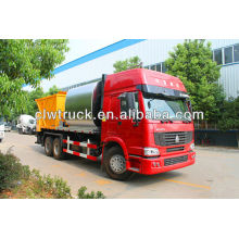 20CBM bitumen and macadam synchronous distributor, bitumen and macadam synchronous distributor, asphalt distributor