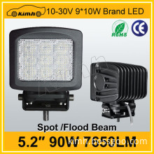 "High power 5.2"" 7650LM 90w led sewing machine work light"