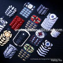 Plastik Keycap und Silikon Gummi Tastatur