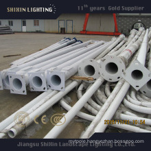 12m Q235 Steel Round Conical Light Pole