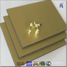 Panel decorativo de aluminio para fachada decorativa imprimible