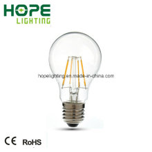Fabricação de 4W, E27 LED Candle Light, Filamento Bulb, LED Filament Bulb