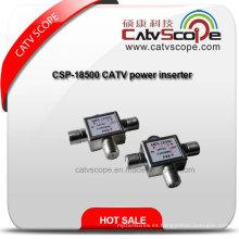 Csp-18500 CATV Inserción de potencia / inserto de alimentación